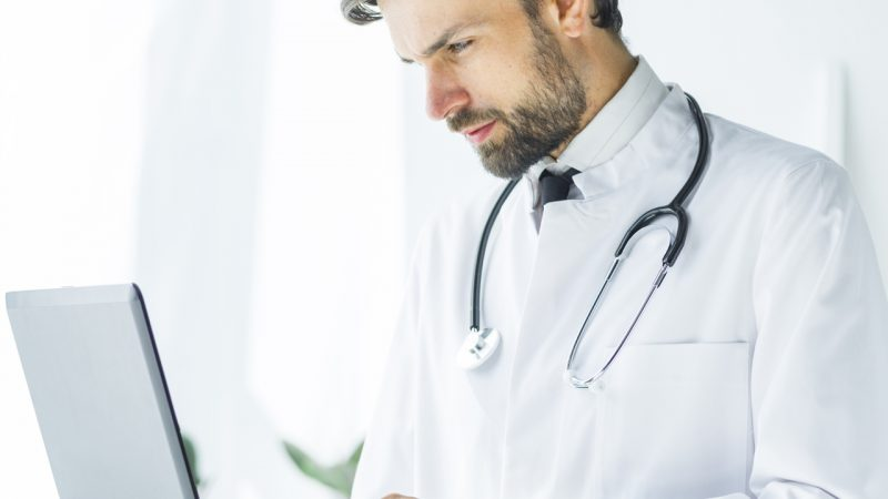 Doctors are using technology to get updates